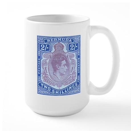 Bermuda KGVI 2s Large Mug