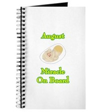 August Miracle Onboard Journal