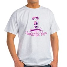I Love Hot Yoga T-Shirt