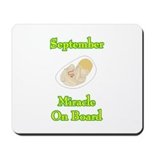 September Miracle Onboard Mousepad