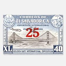 El Salvador Expo 25c Postcards (Package of 8)