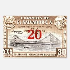 El Salvador Expo 20c Postcards (Package of 8)