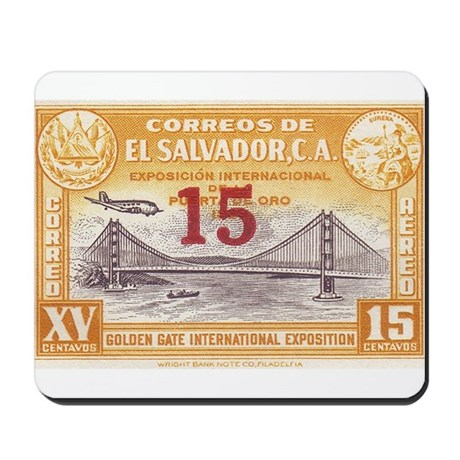 El Salvador Expo 15c Mousepad