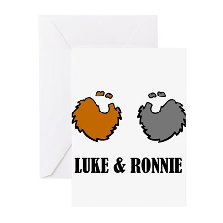 Luke and Ronnie Greeting Cards (Pk of 10)
