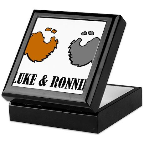 Luke and Ronnie Keepsake Box