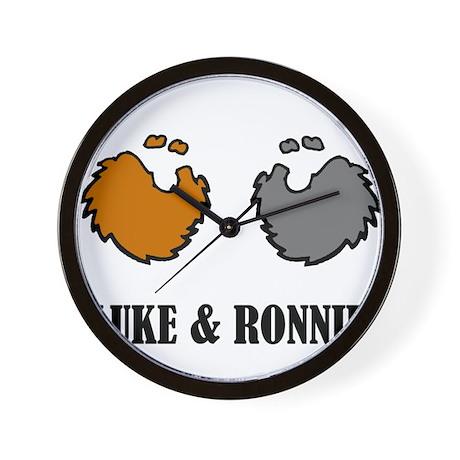 Luke and Ronnie Wall Clock