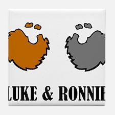 Luke and Ronnie Tile Coaster