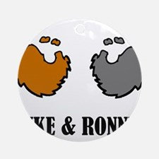 Luke and Ronnie Ornament (Round)