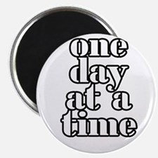 "One day at a time 2.25"" Magnet (10 pack)"