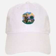 St Francis 2F - Two Shelties Baseball Baseball Cap
