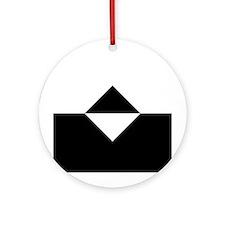 ReBoot - white Sprite icon Ornament (Round)