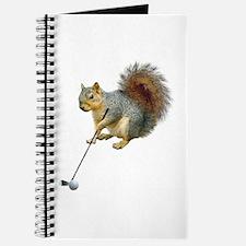 Golfing Squirrel Journal
