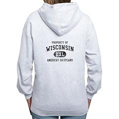 Wisconsin Zip Hoodie