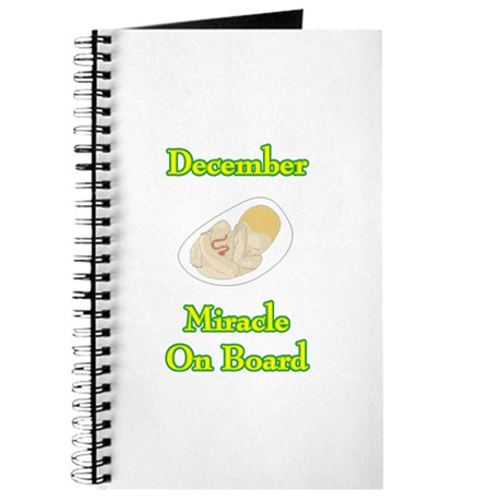 December Miracle Onboard Journal