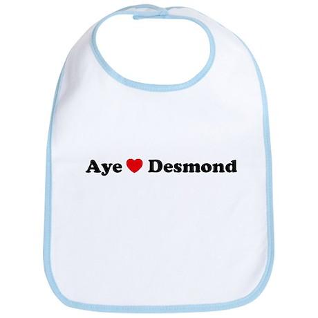 Aye Love Desmond Bib