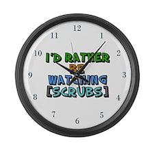 Scrubs TV Large Wall Clock