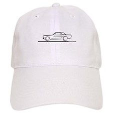 1964 65 66 Mustang Hard Top Baseball Cap