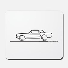 1964 65 66 Mustang Hard Top Mousepad