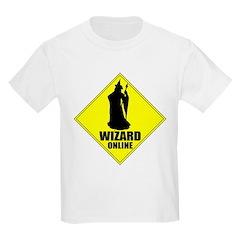 MMORPG Wizard Online Kids T-Shirt