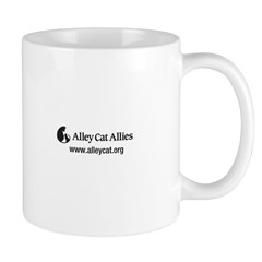 Alley Cat Allies LOLcats Mug - Stray Cat Strut