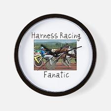 Harness Racing Fanatic Wall Clock