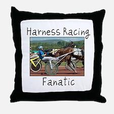 Harness Racing Fanatic Throw Pillow