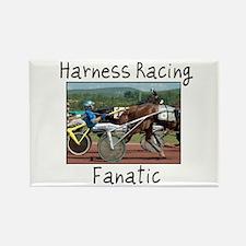 Harness Racing Fanatic Rectangle Magnet