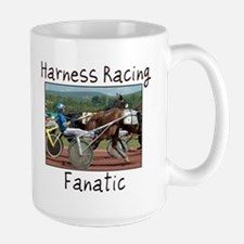 Harness Racing Fanatic Large Mug