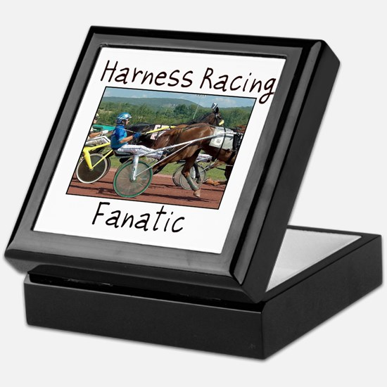 Harness Racing Fanatic Keepsake Box