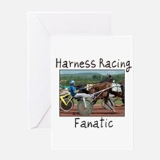 Harness Racing Fanatic Greeting Card