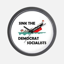 SOCIALISM IS HERE Wall Clock