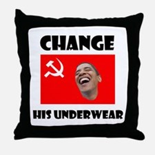 SOCIALISM IS HERE Throw Pillow