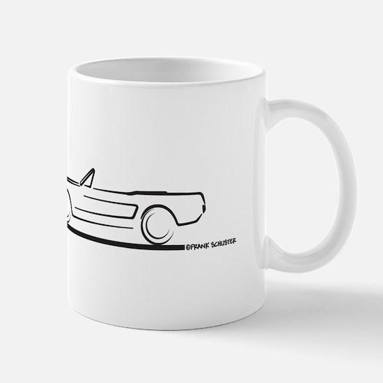 1964 65 66 Mustang Convertible Mug