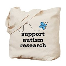 Support Autism Research Tote Bag