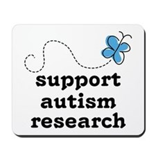 Support Autism Research Mousepad