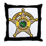 Lake County Sheriff Throw Pillow