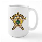 Lake County Sheriff Large Mug