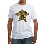 Lake County Sheriff Fitted T-Shirt
