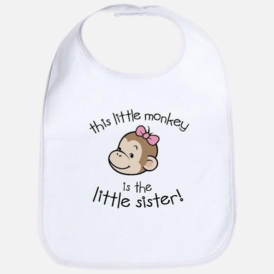 Little Sister - Monkey Bib