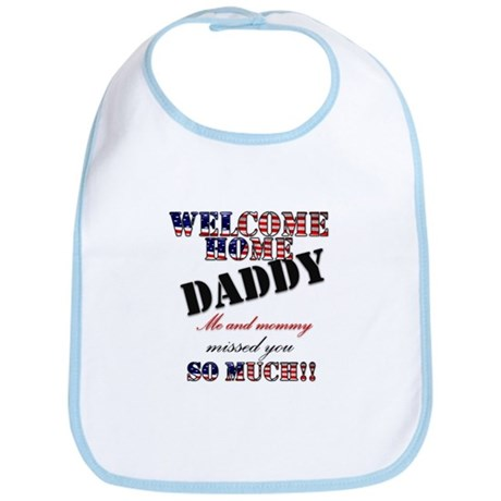 Welcome/daddy Bib