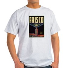 Frisco Fruit Crate Label T-Shirt