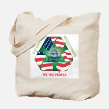 Unique Recycle congress Tote Bag