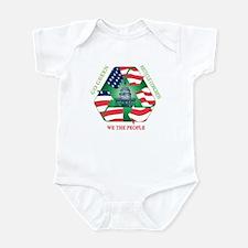 Unique Recycle congress Infant Bodysuit