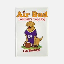 Air Bud Football Rectangle Magnet