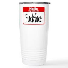 Fuckface Travel Coffee Mug