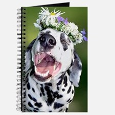 Smiling Dalmatian Dog Journal