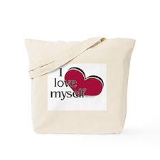 I Love Myself Tote Bag
