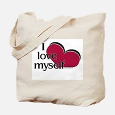 I Love Myself Tote Bag