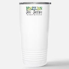 Brazilian Jiu Jitsu - Tap Sna Travel Mug