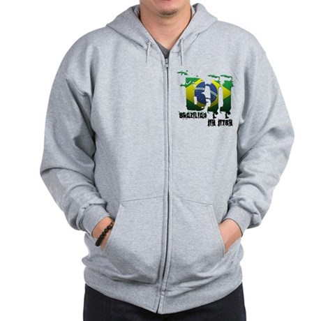 BBJ - Brazilian Jiu Jitsu Zip Hoodie